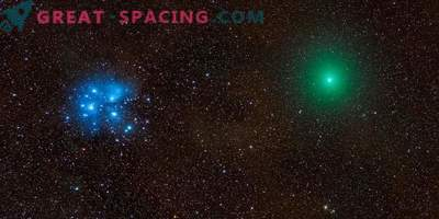 Cometa, meteorito, nebulosa y Pléyades en una foto épica