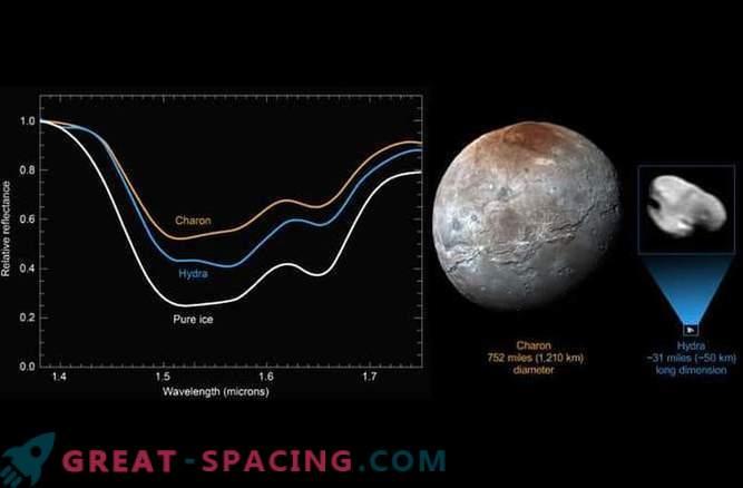 El satélite Hydra de Plutón está cubierto con hielo de agua pura