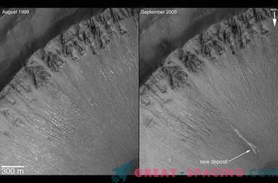 ¿Podrían los barrancos marcianos estar formados por hielo seco?