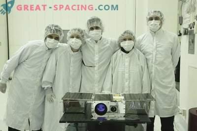 El pequeño satélite ASTERIA alcanza el primer avance