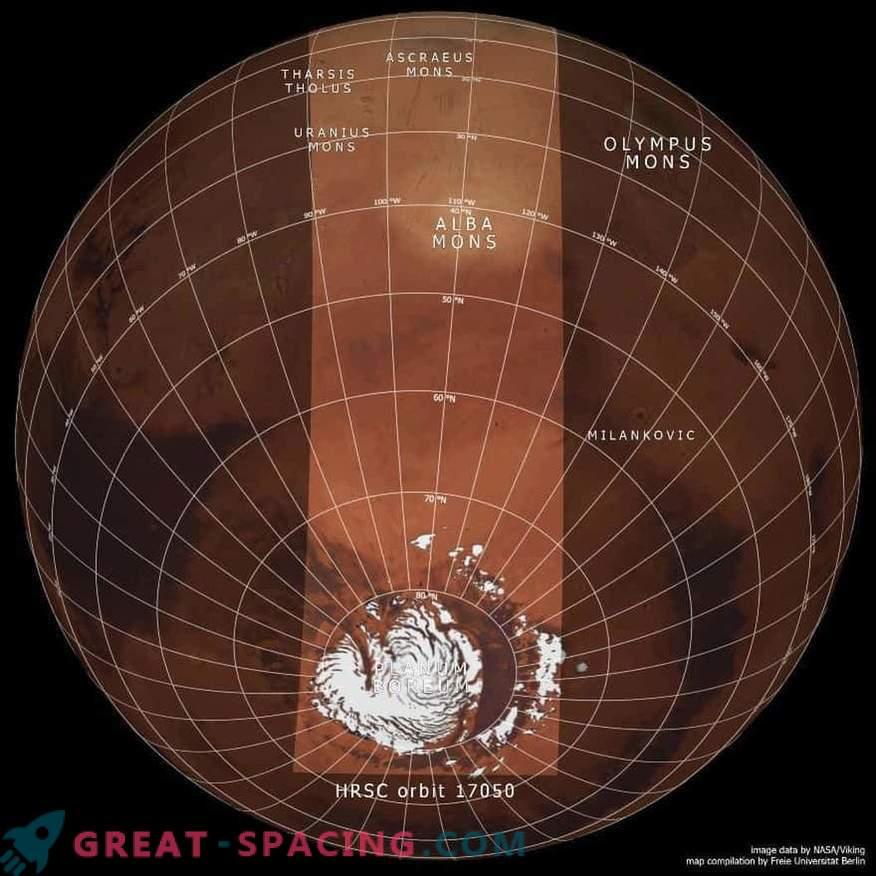 Marte está al revés.
