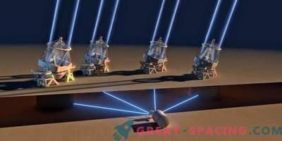 VLT activa 4 telescopios por primera vez