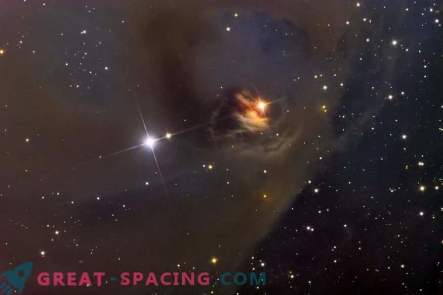 La estructura del campo magnético de las estrellas recién nacidas es más caótica de lo que suponemos