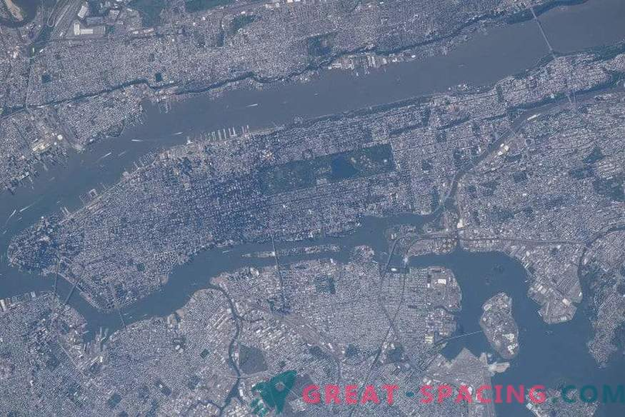 La NASA recuerda el 11 de septiembre con nuevas imágenes de Nueva York desde el espacio