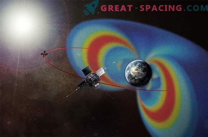 Los cinturones de radiación de la Tierra están cambiando debido a las tormentas solares.