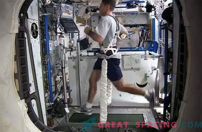 Correr en el espacio es un verdadero desafío