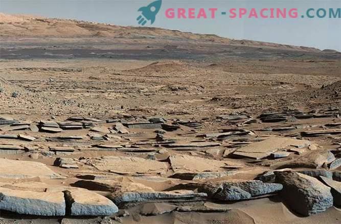 Estudios de las antiguas aguas de Marte por el rover Curiosity: foto