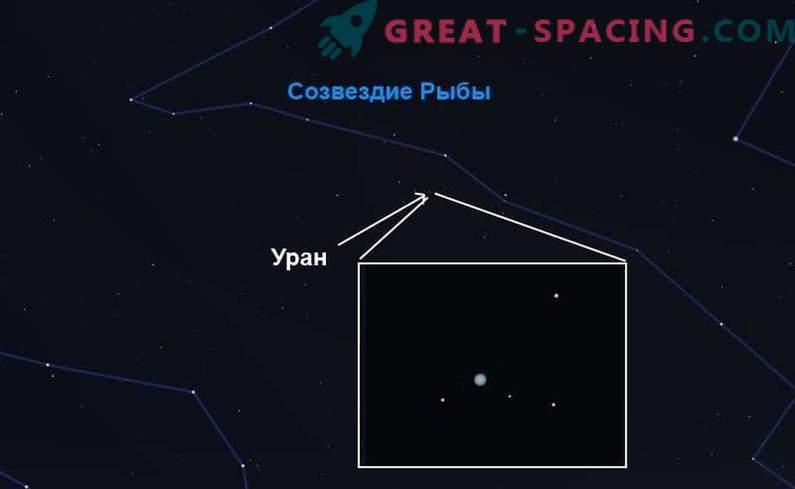En busca de Urano - el gigante azul del Sistema Solar