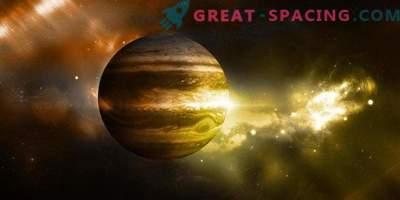 Las condiciones de vida se pueden ocultar dentro de Júpiter