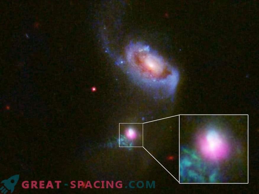 Los investigadores han atrapado un sorprendente agujero negro supermasivo