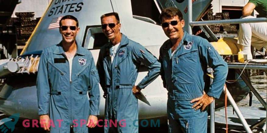 Entrenamiento de la tripulación de Apolo 7