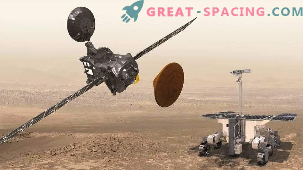 La misión marciana será