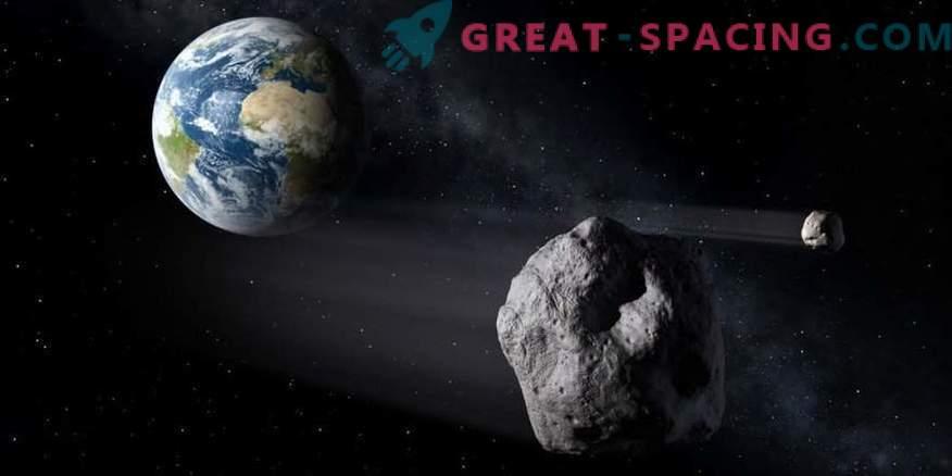 Dos satélites en el asteroide Florence