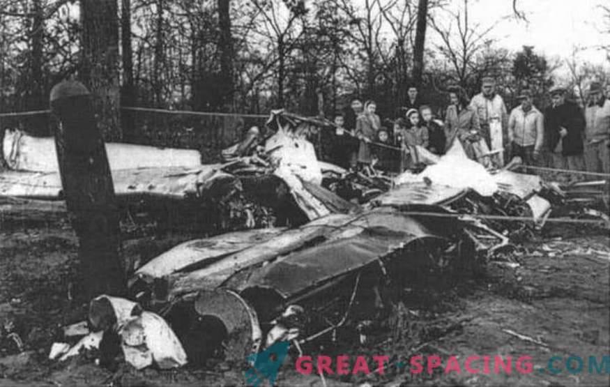 ¿Podría un objeto no identificado derribar a un luchador en 1948? Opinión ufologov