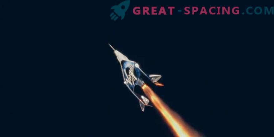¡El turismo espacial se está acercando! SpaceShipTwo partió en un vuelo de prueba histórico
