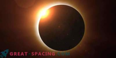 Modelo de computadora del próximo eclipse solar