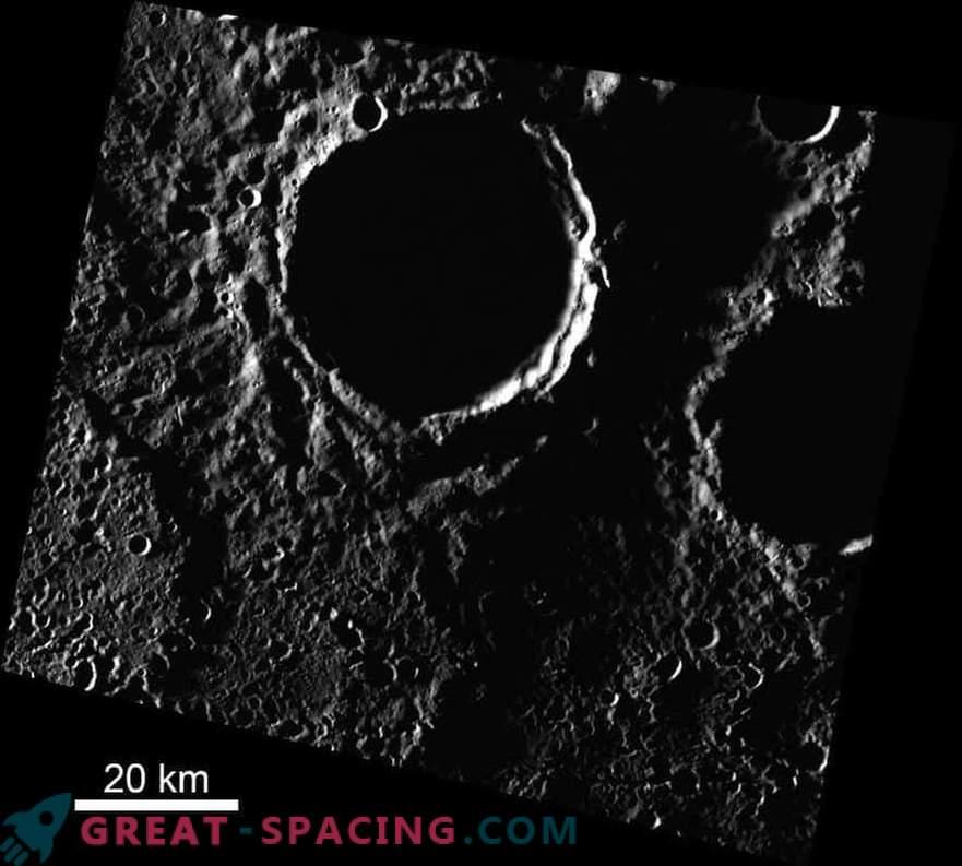 Los polos de Mercurio son más fríos de lo que se pensaba