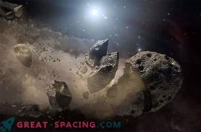 Los asteroides están sujetos a fatiga térmica y desfragmentación