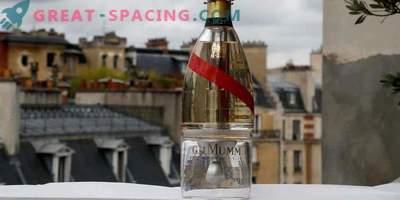Champagne en el espacio! Una botella de Zero-G permite a los turistas disfrutar de una bebida en el espacio infinito