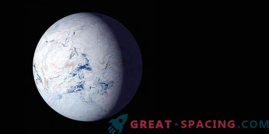 Orbital variations can create a snowball in the habitable zone