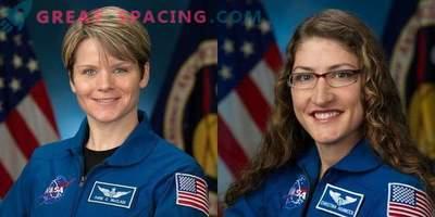 Por primera vez, dos mujeres irán al espacio exterior