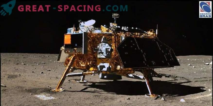 En el lugar de aterrizaje de la sonda china en la luna apareció el nombre