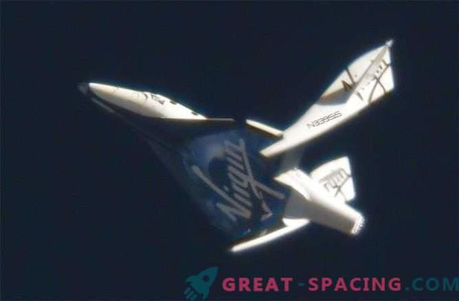 El motor cohete SpaceShipTwo no fue la causa del accidente