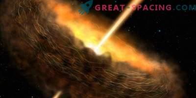 Los campos magnéticos revelan los secretos de los agujeros negros