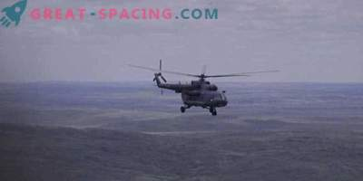 Cápsula rusa con 3 astronautas aterrizó en Kazajstán