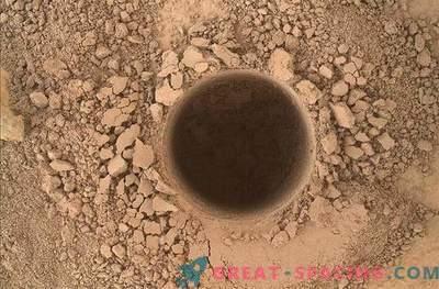 Neugierde bestätigte die Anwesenheit von organischen Verbindungen auf dem Mars!