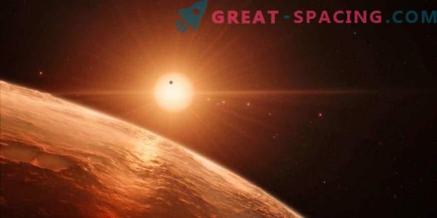 Probabilidad de vida en TRAPPIST-1