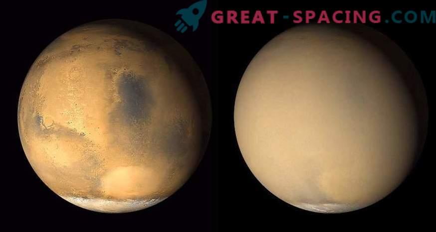 ¿Por qué desapareció el agua en Marte