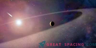 La estrella desgarró al primo masivo del cometa Halley en pedazos