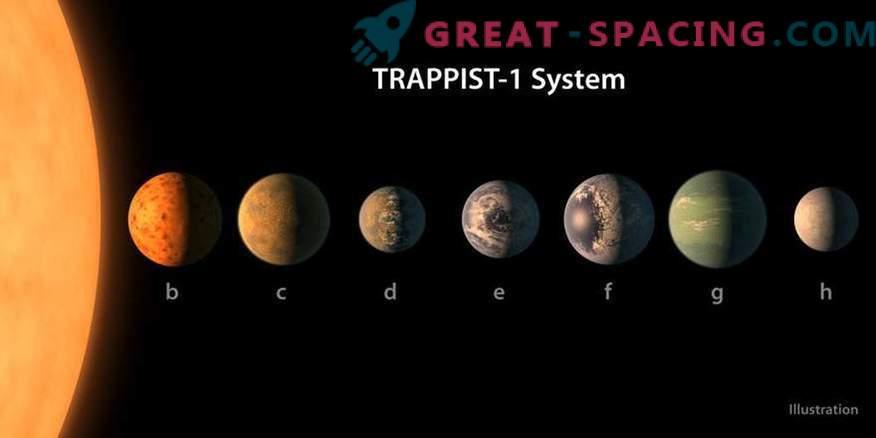 ¿Pueden los planetas TRAPPIST-1 tener hermanas gigantes?