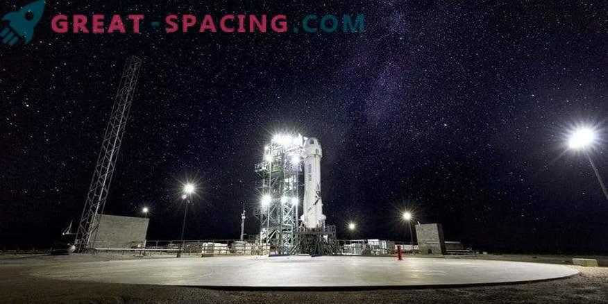Blue Origin está preparando el décimo lanzamiento de prueba para el cohete New Shepard