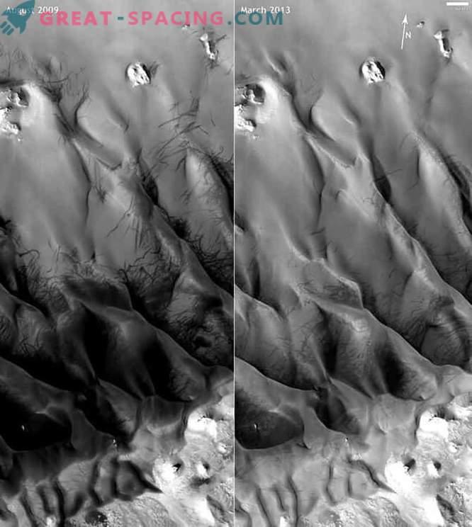 Los vórtices de polvo marcianos pueden detectarse utilizando datos sísmicos