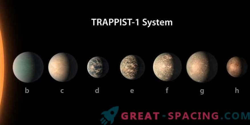 Planet Stars TRAPPIST-1 puede ser amigable con la vida