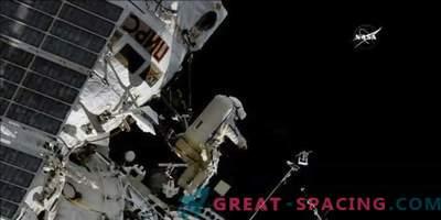 Nueva antena para el seguimiento de aves en la ISS