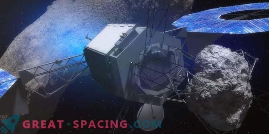 Cómo un tractor gravitacional salvará a la Tierra de una amenaza de asteroide