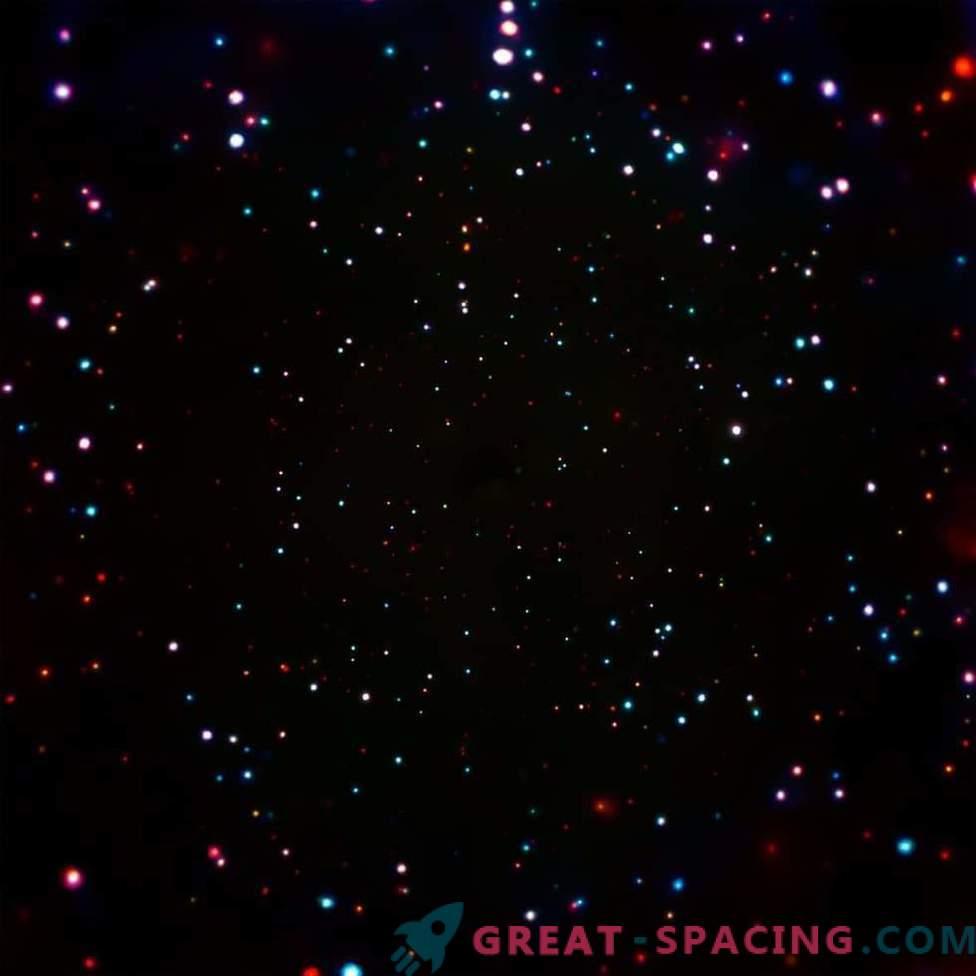 Los puntos extraños muestran el crecimiento de los monstruos de los agujeros negros