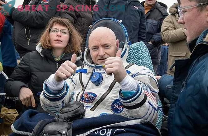 La misión épica de un año en la estación espacial se ha completado.