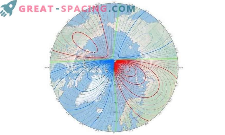 Los científicos tuvieron que actualizar urgentemente el mapa del campo geomagnético mundial