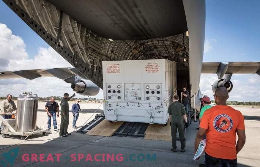 La misión solar de la NASA llega a Florida