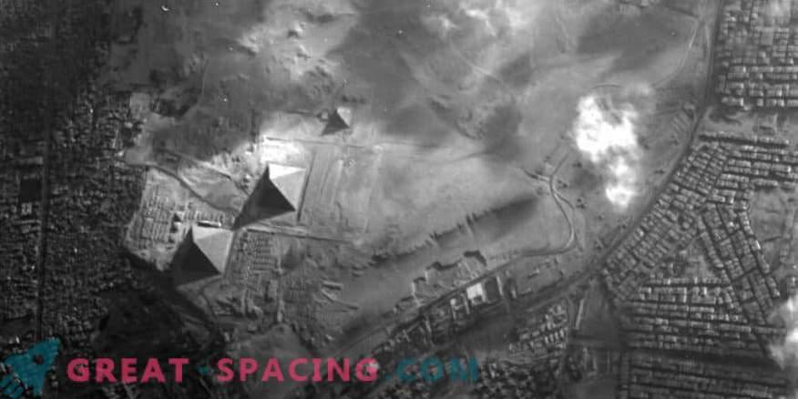 El satélite Proba-1 captura pirámides