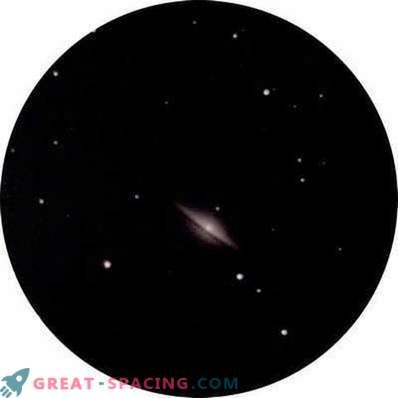 Una mirada a la galaxia Sombrero desde las ciudades