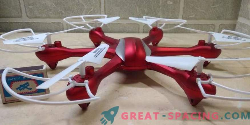 Hexcopters - el tipo perfecto de equipo de vuelo pequeño