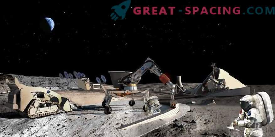 Lockheed Martin construye un prototipo de base lunar