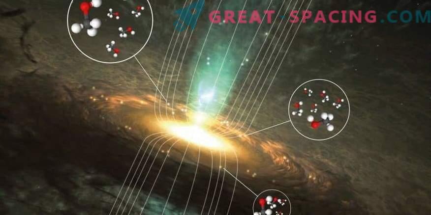Secretos magnéticos de metanol