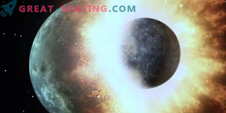¿De quién robó la tierra el agua? Enfrentamiento en el sistema solar temprano