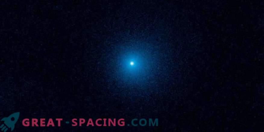 Hubble monitorea el cometa más distante